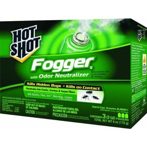 United Industries Corp HG20137 Hot Shot Indoor Fogger