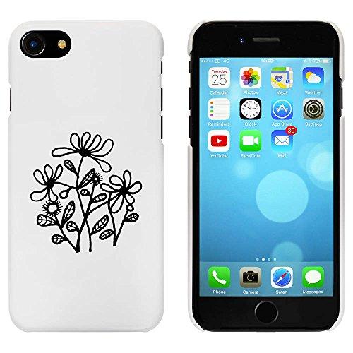 Blanc 'Marguerite' étui / housse pour iPhone 7 (MC00072774)