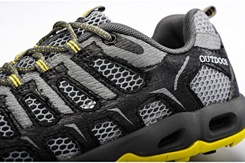 Outdoor Men Walking PINGYE Yellow for HS996 Sneakers Shoes Women Hiking Shoes Mountaineering FnFpRAq
