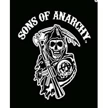 """Sons of Anarchy"""" Officially Licensed Medium Weight Faux Fur Blanket"""