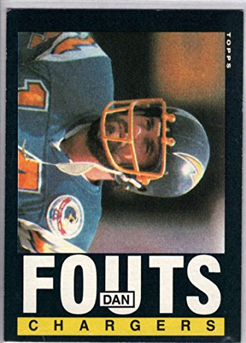 Football NFL 1985 Topps #372 Dan Fouts ()