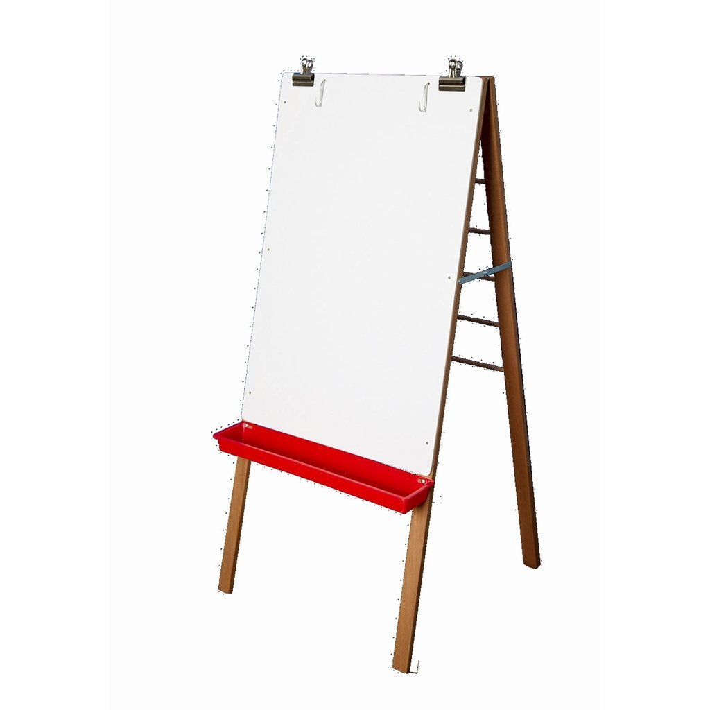 Classroom Painting Easel with Dry-Erase Board and Dowels for Hanging Paintings!