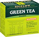 Bigelow Decaffeinated Green Tea 40-Count Boxes 1.82 Oz (Pack of 6) Decaffeinated Individual Green Tea Bags, for Hot Tea or Iced Tea, Drink Plain or Sweetened with Honey or Sugar