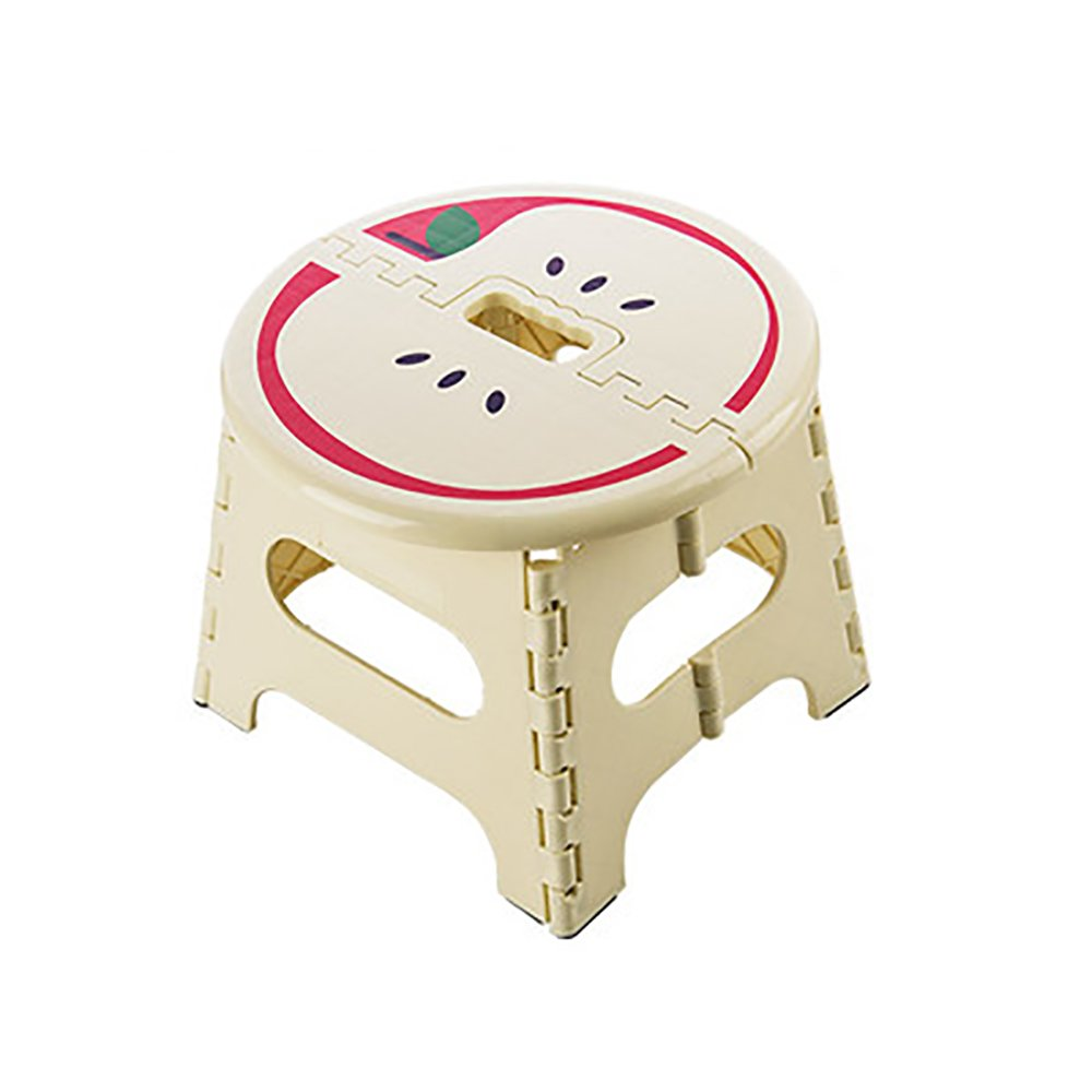 Bathroom Stool Foldable Plastic Stool Home Slip Small Bench Baby Doing Small Stool Portable Portable Outdoor Portable Children Stool Size Optional (Color : C)