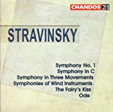 Stravinsky: Symphony No. 1 / Symphony in C / Symphony in Three Movements / Symphonies of Wind Instruments / The Fairy's Kiss / Ode