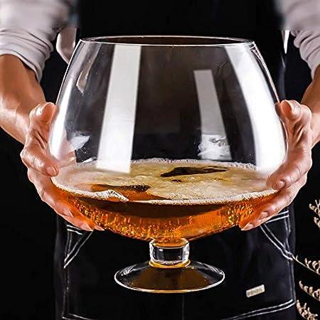 Copa de Vino Gigante Gigante de las copas de vino rojo grande o vino blanco partido de la barra del club de cristal for Bar con whisky cóctel de cerveza Copas for los cumpleaños de los vidrios de Navi