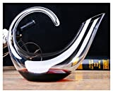 Quality Wine Decanters 800ML Wine Aerator Delicate Lead Free Crystal Glass Carafe