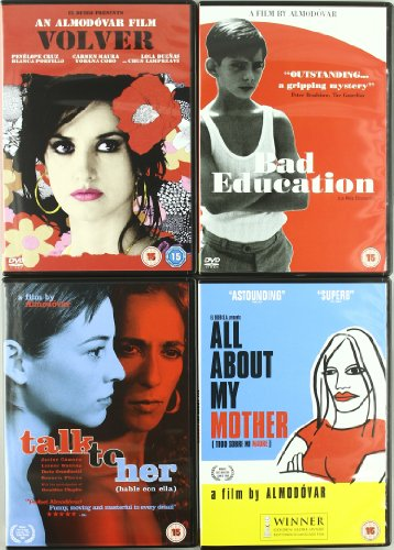 Pedro Almodovar Collection - Volver, All About My Mother, Bad Education, Talk To Her [DVD]