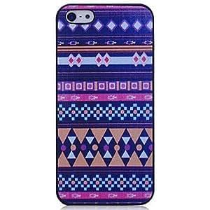GONGXI-Patrón Lureme Vintage Indian Nacional del estuche rígido para el iPhone 5/5S