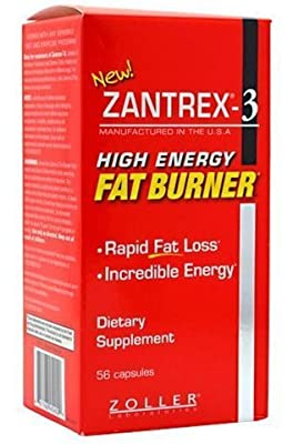 Zantrex-3 High Energy Extreme Fat Burner 112 Capsules (2 Pack) by Zoller