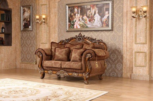 Meridian Furniture Inc Sheraton Loveseat with Accent Pillows
