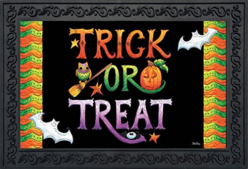 Briarwood Lane Halloween Trick or Treat Doormat Holiday Indoor Outdoor 18