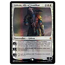 SDCC 2016 Magic the Gathering Exclusive Planeswalker Zombie Gideon, Ally of Zendikar Foil Card by Magic