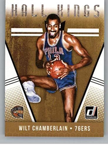 (2018-19 Donruss Hall Kings #5 Wilt Chamberlain Philadelphia 76ers Basketball Card )