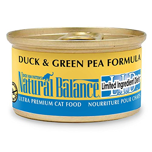 Natural Balance Limited Ingredient Canned Cat Food Reviews