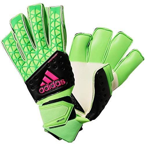adidas Performance Mens Ace Zones Fingersave Soccer Goalkeeper Gloves - 9.5