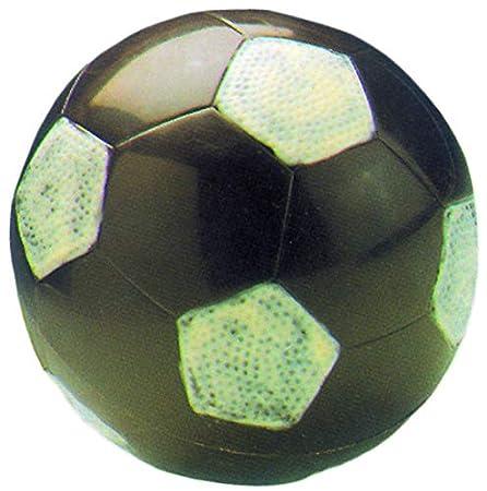 Molde de Policarbonato Balón de Fútbol. Diámetro total: 25 mm ...