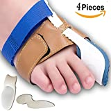Bunion Corrector and Bunion Relief Sleeve with Gel Bunion Pads Toe separators Cushion Bunion Protector - Fight Bunions, Hallux Valgus Correction & More! Foot Pain Relief by SJNDY (2)