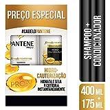Shampoo Pantene 400ml + Condicionador 175ml Pantene Hidrocauterização