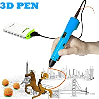 3D Pen For Kids ,Newest 3D Printing Pen Compatible ABS PLA Filament, KT-PRASE Portable 3D Printer Drawing Pen LCD Screen Supports Mobile Power by KT-PRASE