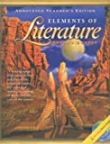 Elements of Literature, Grade 8, Holt, Rinehart and Winston Staff, 0030673070