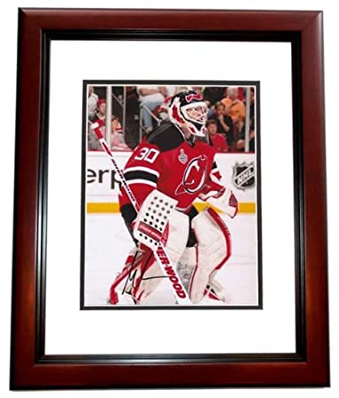 Martin Brodeur Signed - Autographed New Jersey Devils 8x10 inch Photo  MAHOGANY CUSTOM FRAME - Guaranteed cca0fe702