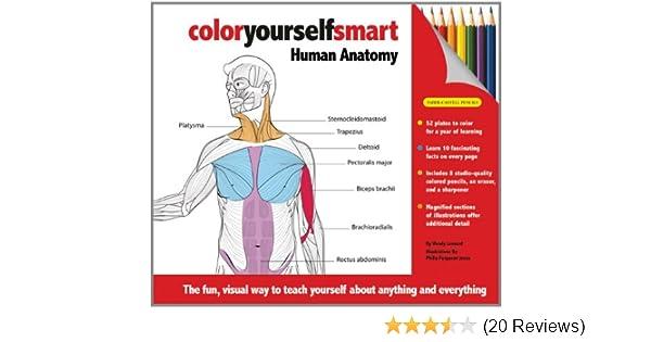 Color Yourself Smart Human Anatomy 9781607102175 Medicine