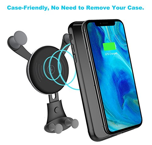 10W Wireless Car Charger, Wireless Fast Car Mount, Air Vent Phone Holder, Fast Charge for Samsung Galaxy S9, S9 plus, S8, S8 plus,note 8, note 5 by BESTHING (Image #3)