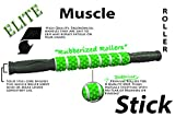 The-Muscle-Stick-Elite-Rubber-Massage-Roller-Better-Than-Foam-Roller-Deep-Tissue-Muscle-Recovery-Trigger-Point-Relief-of-Soreness-No-Flex-Perfect-Pressure-Guaranteed-Green-Knobby-Soft