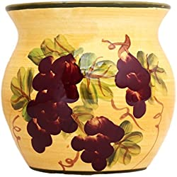 Tuscany Grape Kitchen Decor Tart Burner/warmer Hand Painted