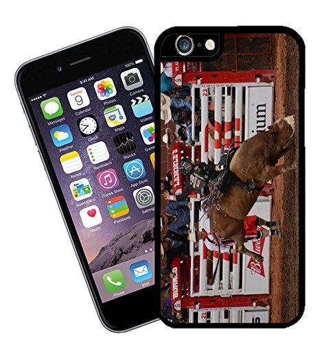 Bull Riding at Calgary Stampede in Canada 05 iPhone case - This cover will fit Apple model iPhone 6 - By Eclipse Gift Ideas