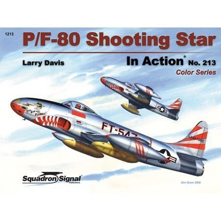 P/F-80 Shooting Star in Action - Color