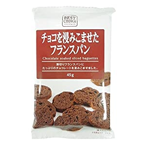 Cleat Best Choice immersion seen chocolate French bread 45gX15 bags