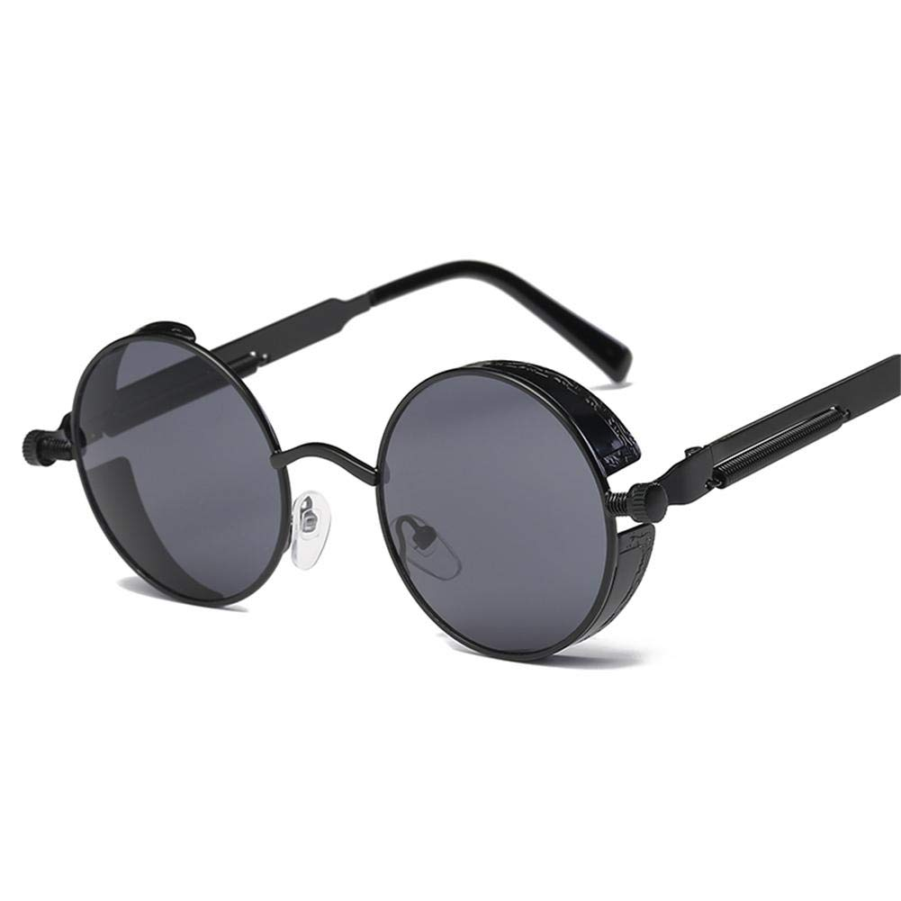 cherrysong Metal Steampunk Sunglasses Mens and Womens Fashion Glasses