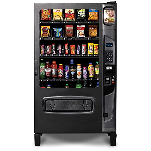 (AB 40/395 Refrigerated Food and Beverage Combo Vending Machine)