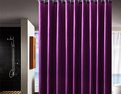 BESTLINENSTOYOU Shower Curtain Waterproof Mold And Mildew Resistant Fabric