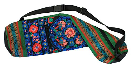 Hand Embroidered Bokhara Yoga Mat Bags (27
