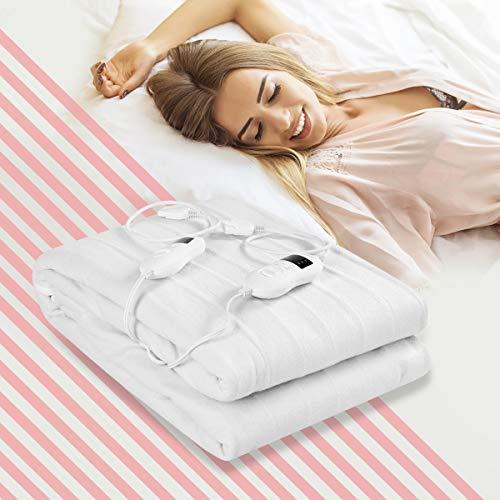 Buy heated mattress pad queen