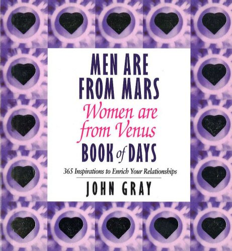 - Men Are from Mars, Women Are from Venus, Book of Days