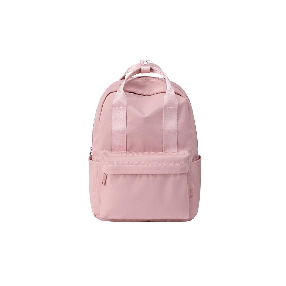 TONGBOSHI Backpack Female 2019 Simple Casual Backpack Male Large-Capacity School Bag College Students (Color : 2)