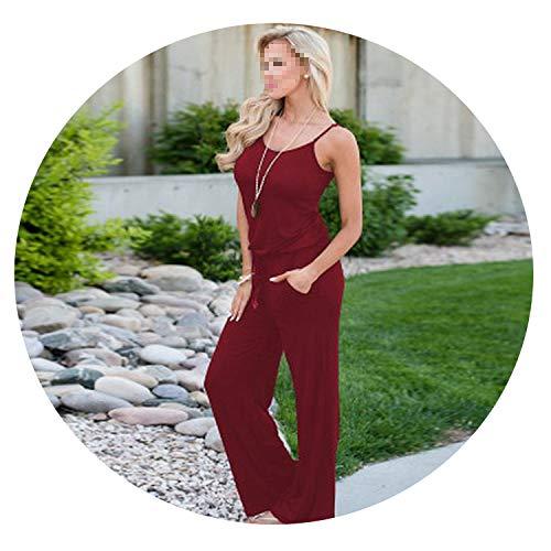 (Women Super Comfy Floral Jumpsuit Fashion Trend Sling Print Loose Piece)