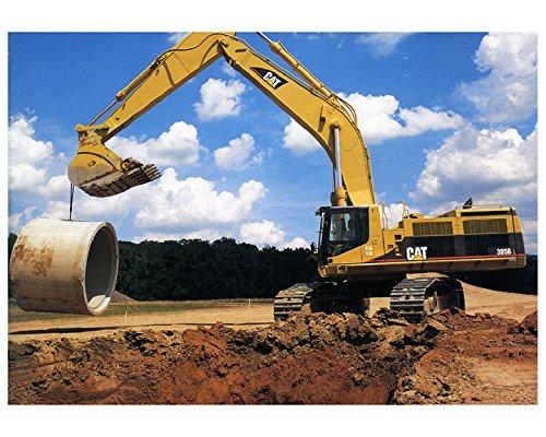 2002 Caterpillar 385BL Hydraulic Excavator Construction Photo Poster