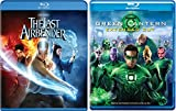 The Last Airbender + Green Lantern Blu Ray Anime DVD animated Movie Pack