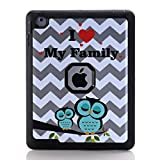 iPad 4 Case,iPad 3 Case,iPad 2 Case,Walle Shop®[Cute Owl Design] 3in1 Heavy Duty Rugged Armor Hybrid Shockproof Defender Full Body Protective Cover,Three Layer Design + Impact Resistant Bumper