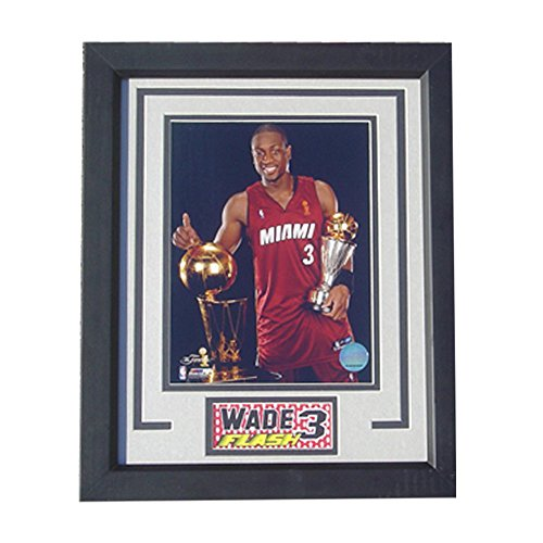 Miami Heat Championship (Encore Select 142-10 NBA Miami Heat Deluxe Frame Dwayne Wade Print, 8-Inch by 10-Inch)
