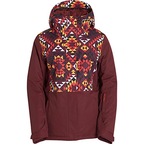 Billabong Women's Akira Snow Jacket, Navajo Red, M (Billabong Snow Jackets)