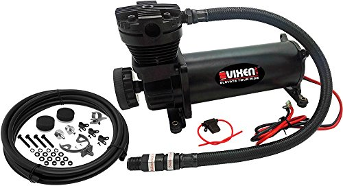 - Vixen Air 200 PSI Heavy Duty Suspension/Air Ride/Bag/Train Horn Air Compressor/Pump with 3/8