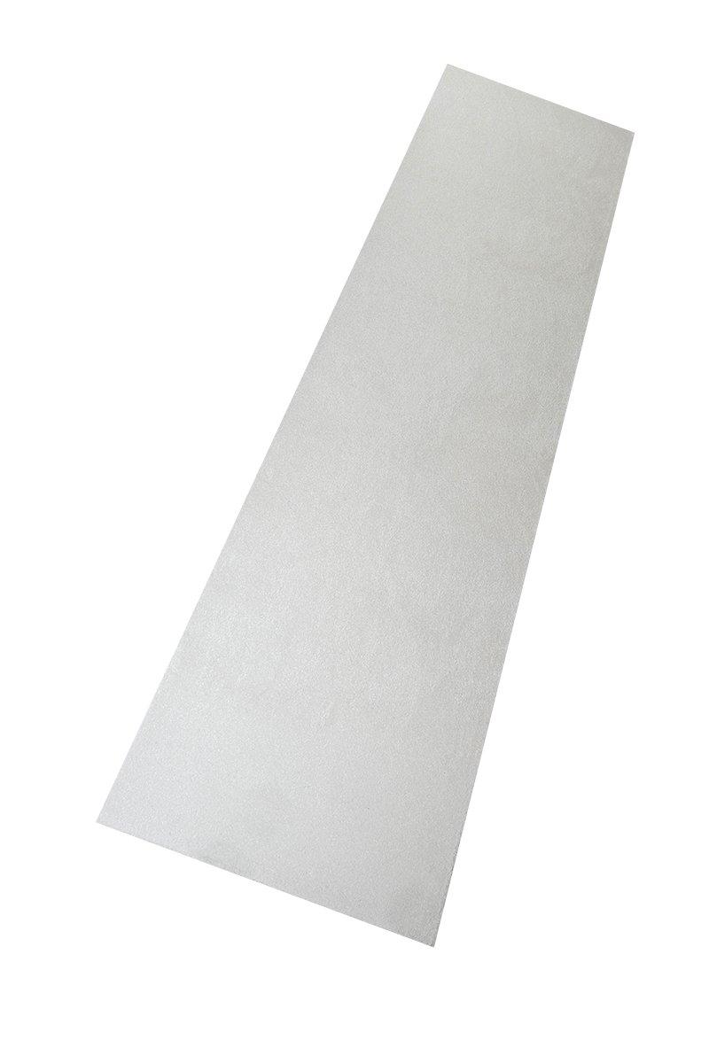 Luxus Hochflor Läufer Prestige Weiß nach Maß - versandkostenfrei schadstoffgeprüft pflegeleicht antistatisch robust strapazierfähig schmutzabweisend dekorativ Wohnzimmer Schlafzimmer Büro Flur Diele, Größe Auswählen:100 x 1250 cm