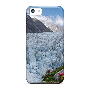 Cute LauraKrasowski Mighty Glacier In Spring Cases Covers For Iphone 5c