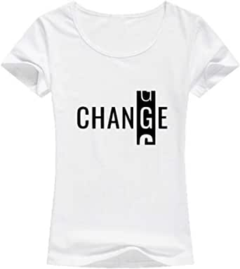 تيشيرت تغيير ابيض  نساء - مقاس XL